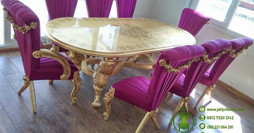 Toko Furniture Murah Di Depok Set Meja Makan Klasik