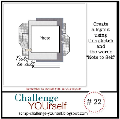 Note To Self... - Challenge Yourself #22