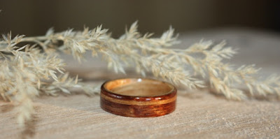 Touch Wood Rings By David Finch. Pioneer of the steam bent wood ring.