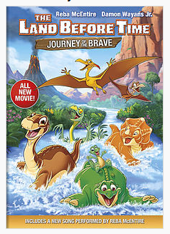 Download Film The Land Before Time XIV Journey of the Brave (2016) DVDRip 350MB Ganool Movie