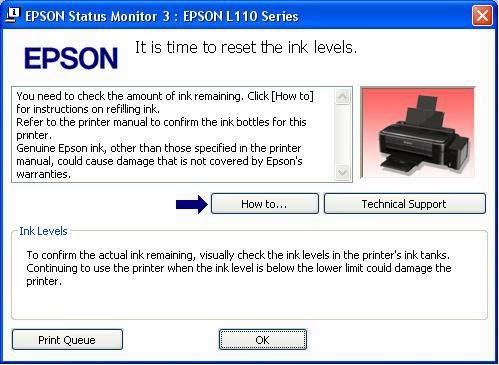Cara Atasi 2 Error Umum Epson L Series L110 L210 L300 L350