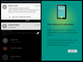 Smart Lock For Android 5.0 Lollipop