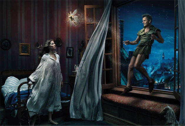Peter Pan Disney Dream Portraits Annie Leibovitz