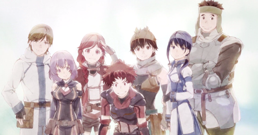 Download Hai to Gensou no Grimgar Subtitle Indonesia 1 - 12 (TAMAT)