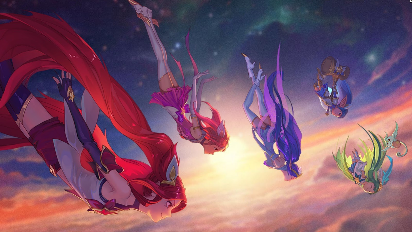 Surrender At 20 The Star Guardians Upcoming Janna Jinx Lulu