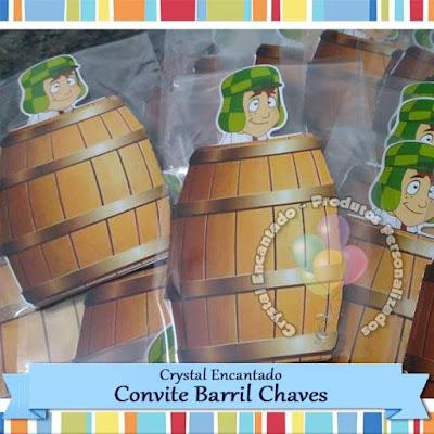 Convite Barril do Chaves