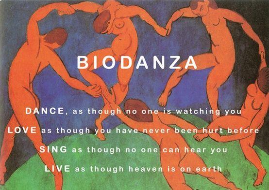 Biodanza quote