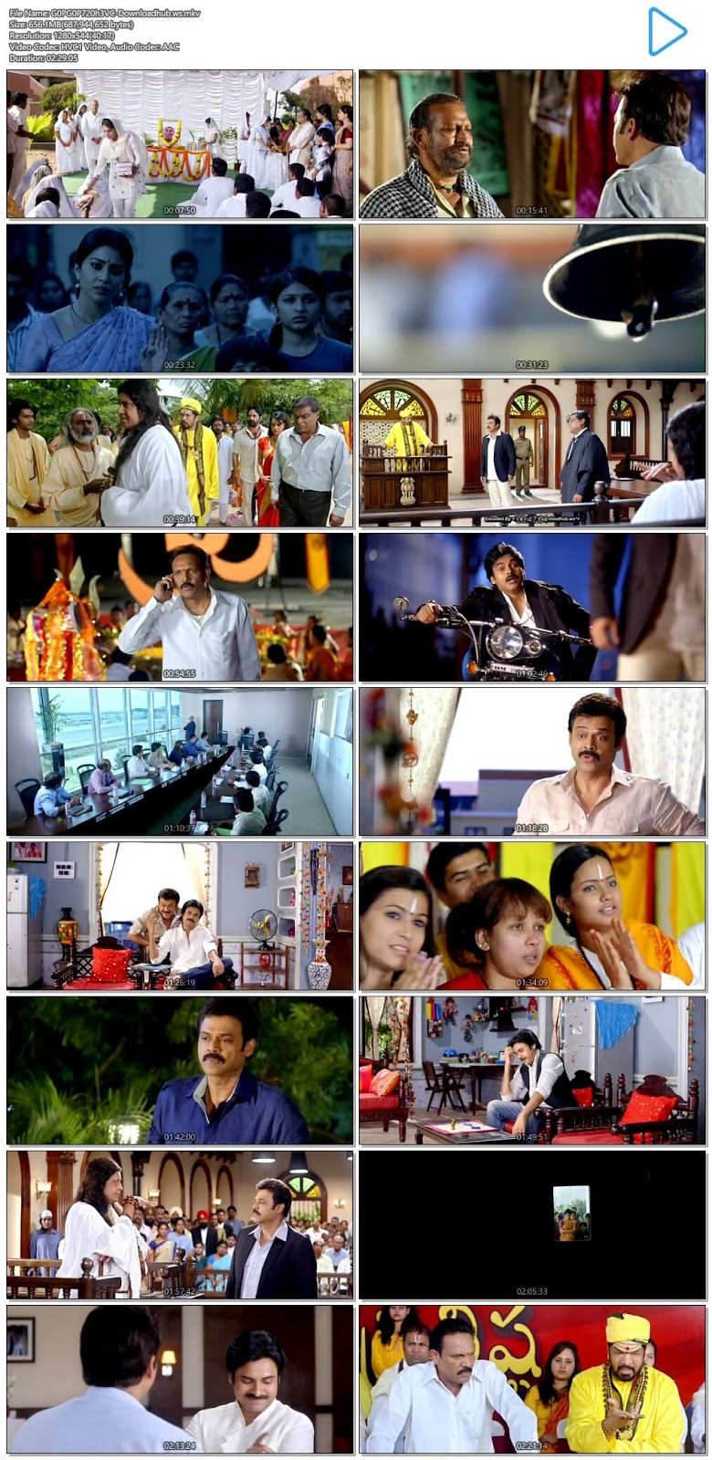Gopala Gopala 2015 UNCUT Hindi Dual Audio 720p HEVC HDRip Download