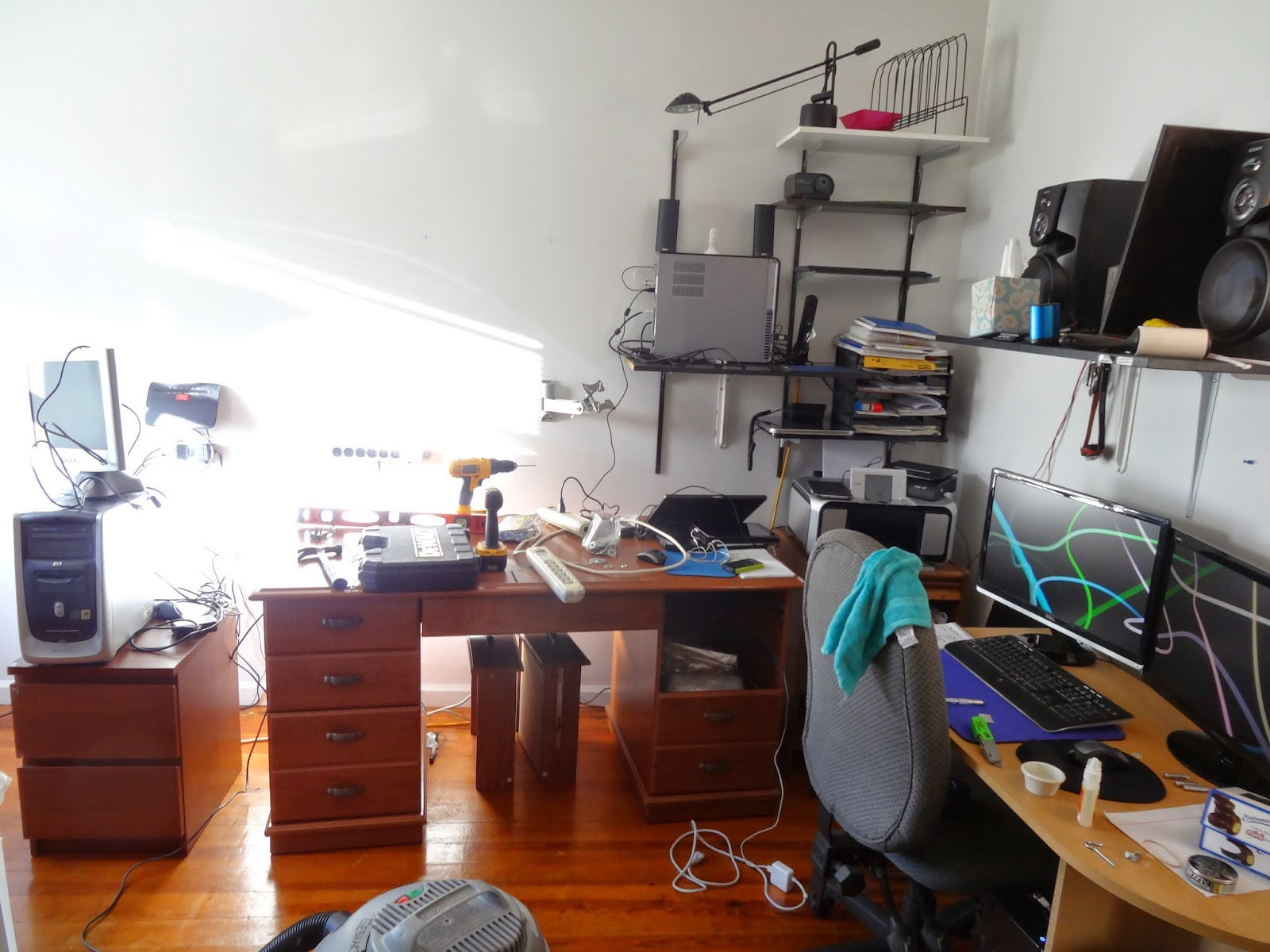 Checking Reality: eBay Office Setup + Packing Area + Photo