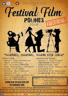 Festival Film POLINES 2018 by Politeknik Negeri Semarang