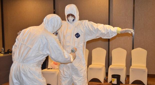 Bakamla RI Gelar Praktek Penanggulangan dan Dekontaminasi Nuklir