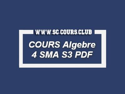 ALGEBRE 4: Réduction des Endomorphismes et Applications PDF : pour les etudiants faculté des sciences science de SMA S3 par cours science exerice examens tp td pdf gratuit,