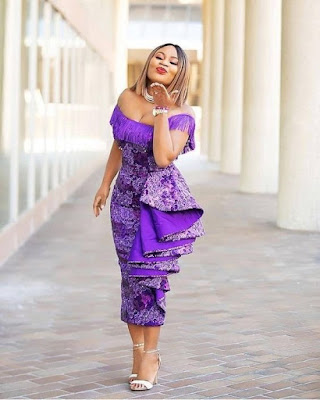 33 Traditional Ankara Gown Styles Attires For Lace 2019 To Wear