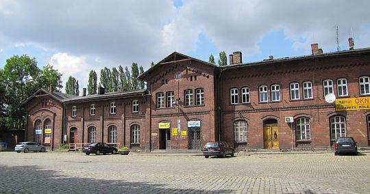 Dworzec kolejowy w Prudniku.