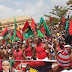 BREAKING: IPOB Shuts Down South-East With Massive Protest (PHOTOS)