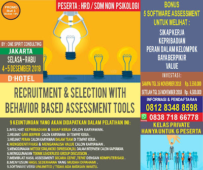 Workshop Alat Tes Psikologi 2018
