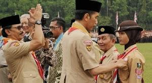 Anggota Gerakan Pramuka Indonesia