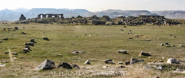 Panorámica del Ágora Meridional de Laodicea