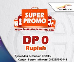 Promo Akhir Tahun DP Uang Muka 0 Rupiah Nasmoco Toyota Gombel Semarang Demak, Pati, Kudu, Purwodadi, Salatiga, Kendal, Jepara, dan Ungaran
