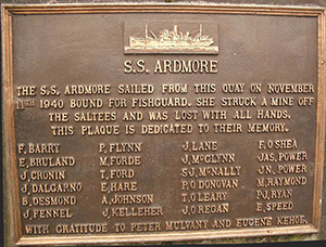11 November 1940 worldwartwo.filminspector.com SS Ardmore plaque