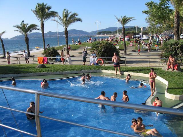 Piscina e Praia de Samil em Vigo