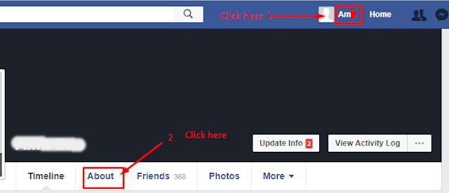 Facebook, Mobile number kaise hide kare,