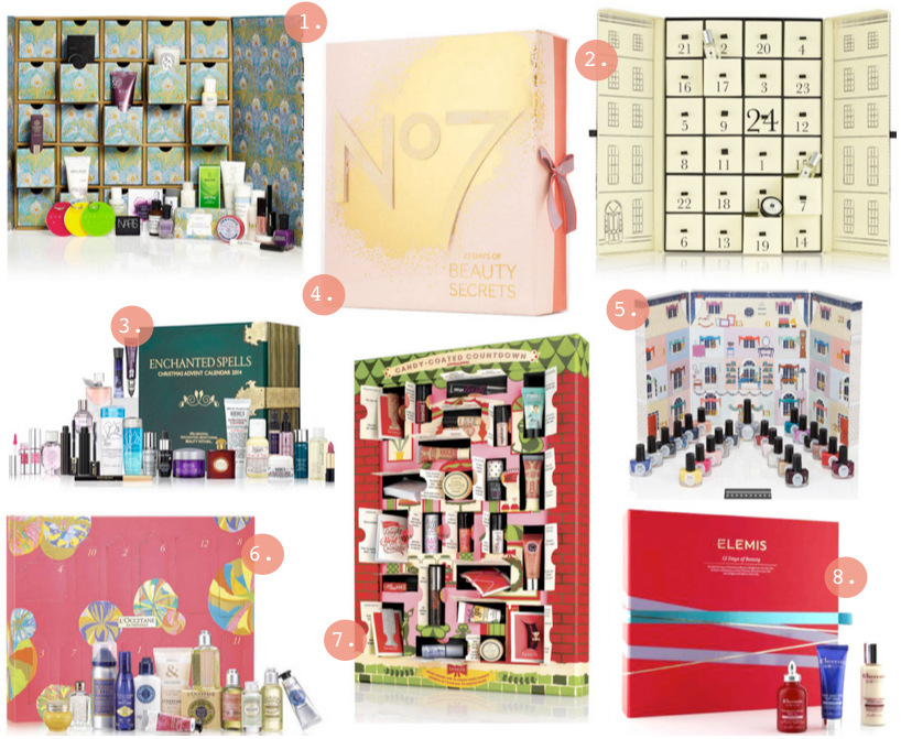 Beauty Advent Calendar Showdown 2014!