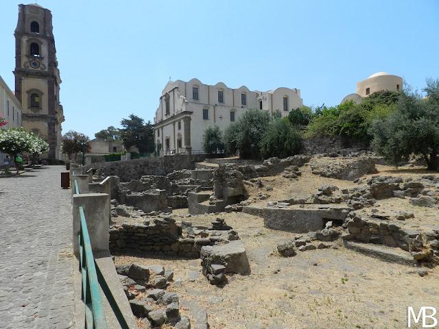 lipari isole eolie rovine preistoriche