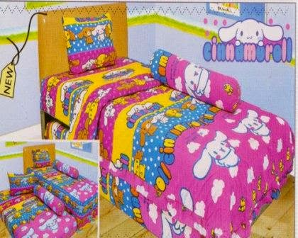 Sprei internal motif Cinnamoroll