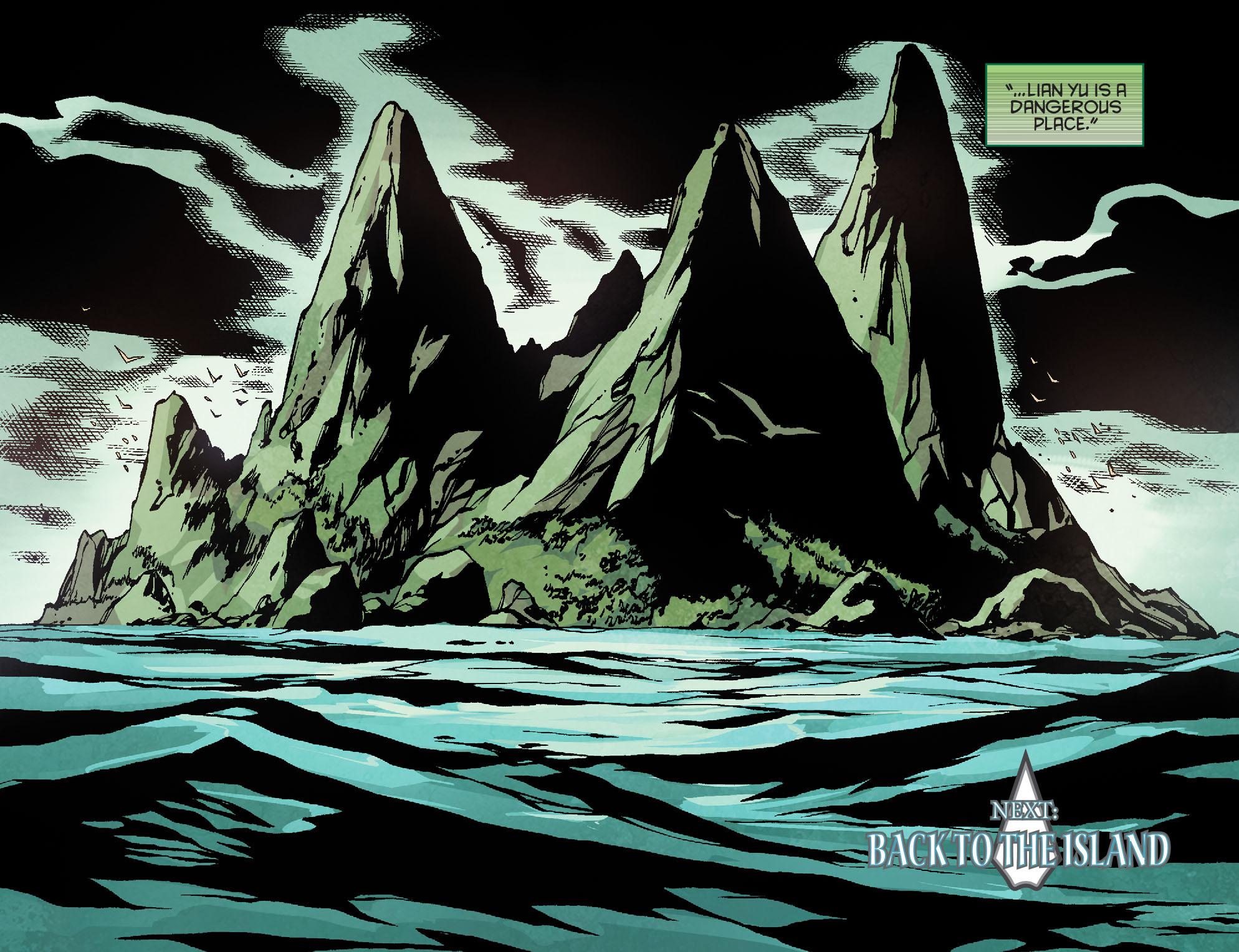 Read online Arrow: Season 2.5 [I] comic -  Issue #18 - 22