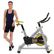 Best Spinning Bikes-Exerpeutic LX905 Indoor Cycle