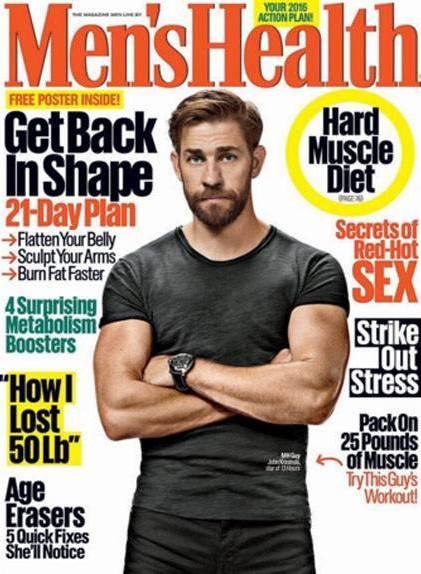 John Krasinski Workout routine and Diet plan | Muscle world