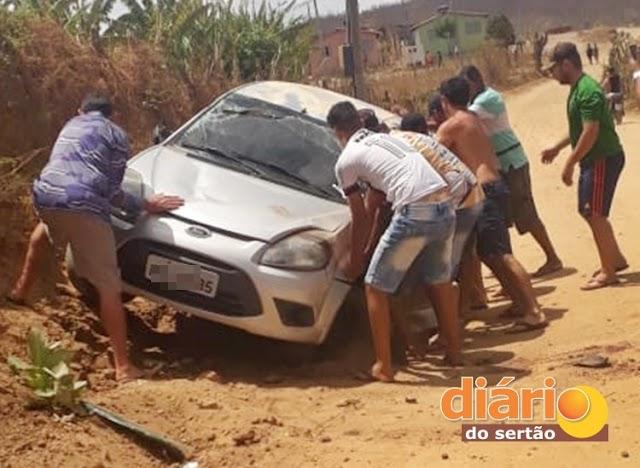 TRAGÉDIA! Menina de 04 anos morre em grave acidente de carro na região de Cajazeiras