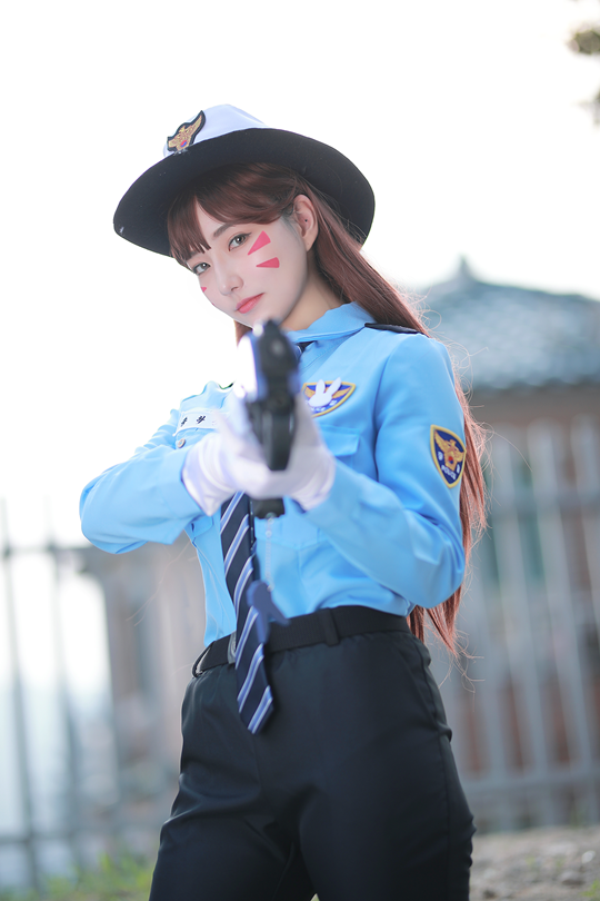 Cosplay D.VA - Overwatch P7