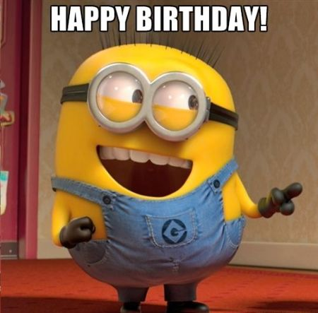 2 happy birthday minions gif images & meme pictures,Download Funny Minion Memes