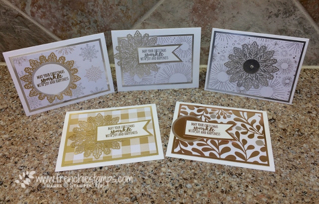 Christmas Pines, Year Of Cheer, Foil Snowflake, Stampin'Up!