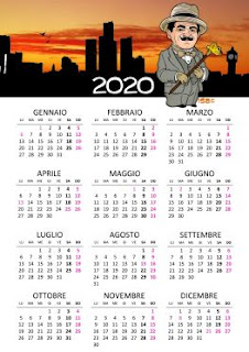 Calendario 2020 Poirot - Acquista