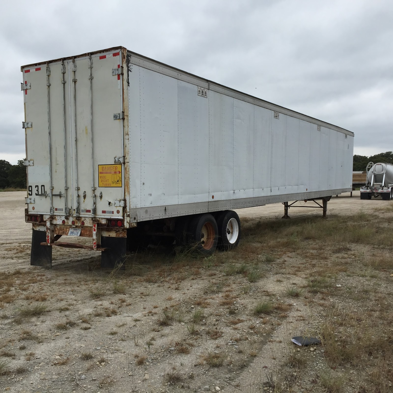 FOR SALE: 57' Storage Semi Trailer