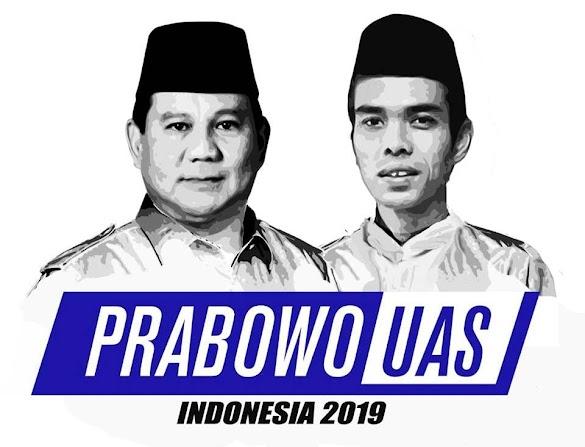 Gerindra: Prabowo - UAS Memang Paling Menggema di Masyarakat