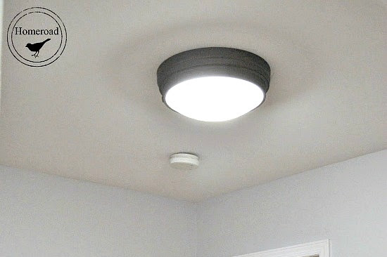 Hallway Project & Where to Get New Ceiling Lights