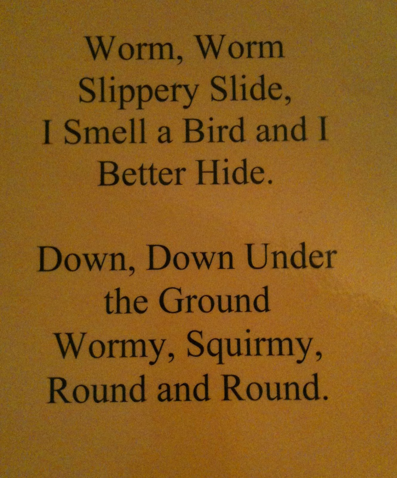 Worm Worksheets For Preschoolers