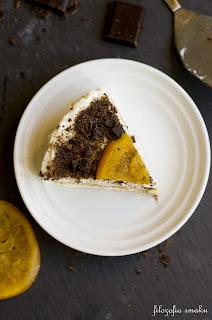 (Tiramisu czekoladowo-pomarańczowe