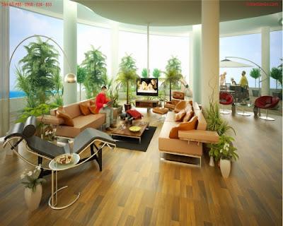 Lý do lựa chọn sàn gỗ tự nhiên cho phòng khách sang trọng