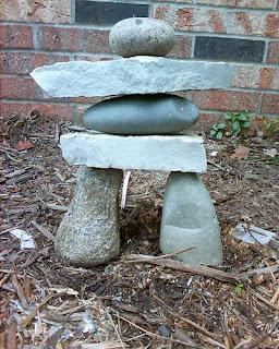 ตกแต่งสวนด้วยหิน