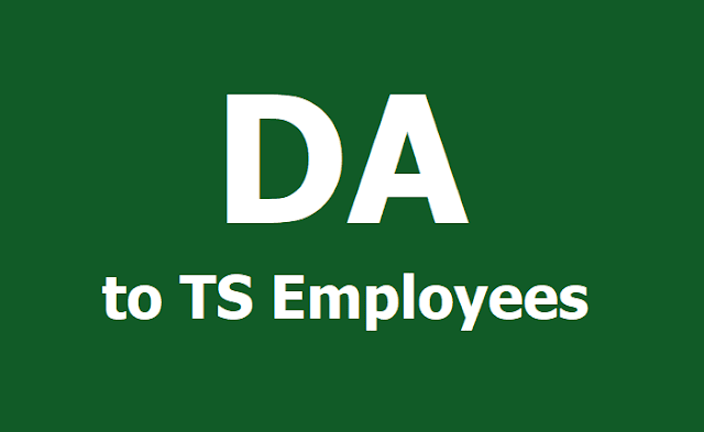 GO.88 New DA to TS Employees from 1st January 2019 (Present DA: 33.536%)