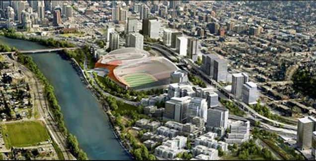 The Blair Necessities Calgary Unveils Plan For Downtown Arena And Football Stadium