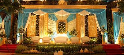Contoh Dekorasi Pernikahan Muslimah