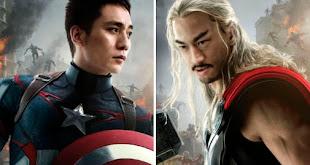 Así lucirían los Avengers si fuesen Chinos