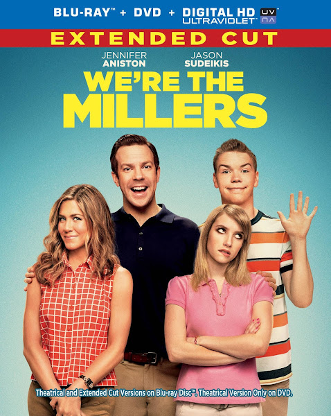Poster of We're The Millers 2013 Extended 720p Dual Audio BluRay ESubs Download