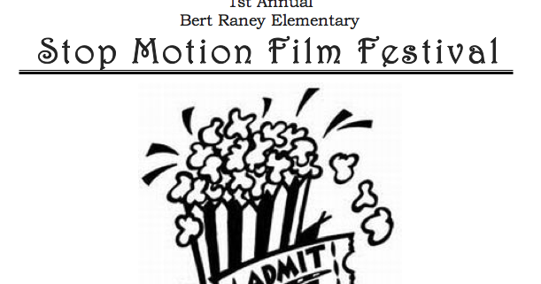 Experiments in Art Education: Stop Motion Film Festival